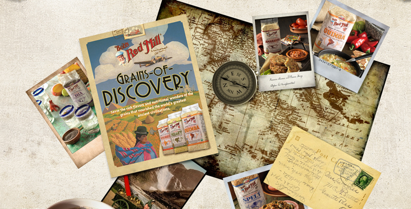 Grains of Discovery Marquee